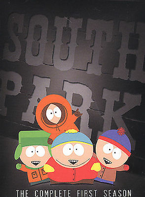 South Park - The Complete First Season (DVD, 2004, 3-Disc Set) DISC IS MINT