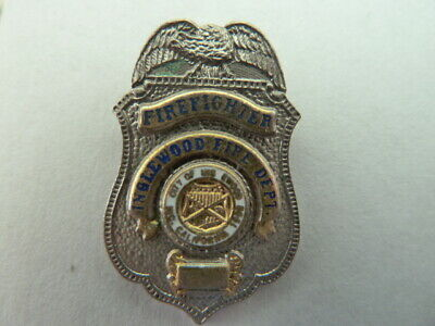 Pin's Sapeurs Pompiers  Usa /  Firefighter  / Inglewood  Fire Dept  /  Superbe