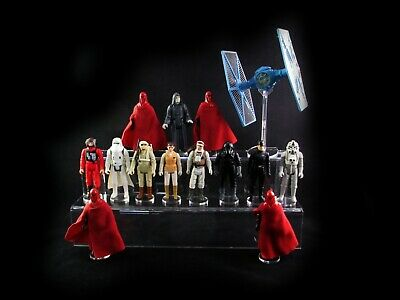 Action figure stand for Star Wars , Funko Pop , POTF , Kenner ,etc. 2 Step Tier