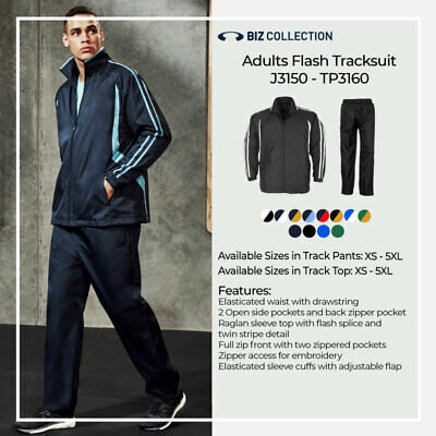 Adults Mens Ladies Flash Tracksuit Jacket Pants Bottom Jogging Sports Club Team