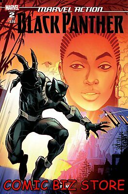 Marvel Action Black Panther #2 (2019) 1St Printing Samu Main Cover A Marvel/Idw