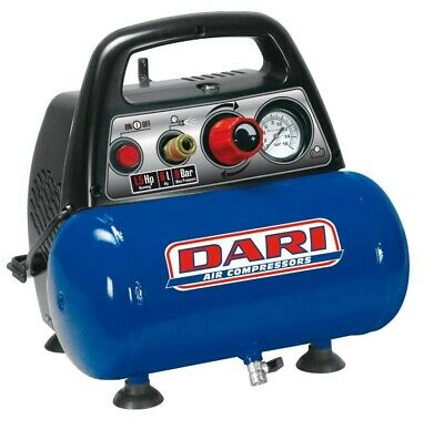 Fini Nuair New Vento mini compressore portatile 6 lt 1,5 Hp 8 bar 230V