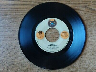 1973 Mint-Exc+Foghat What A Shame/ Helping Hand Bsv 0014 45