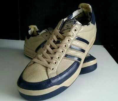 Adidas 10 Nastase' Trainers Vintage Uk Size Leather Ilie vnN0O8wm