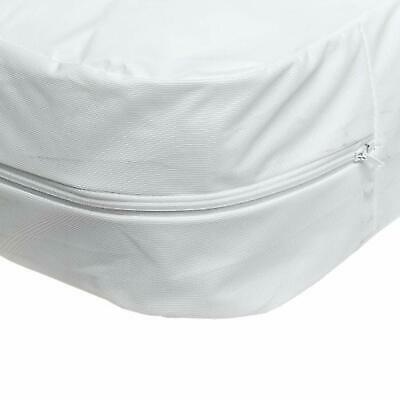 Mattress Plastic Cover For Bed Waterproof Zippered Hypoallergenic Protector Twin