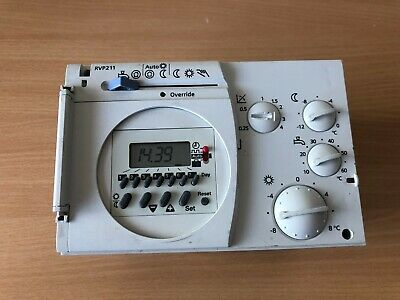 SIEMENS RVP211 Heating controller without time switch, with d.h.w. heating