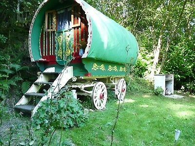 Reduced! Romany Wagon Retreat luxury Holiday deal 2 nights; 2nd & 3rd October.