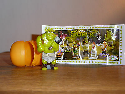 Magic Kinder Montable – Shrek - Ogre avec pagne gris 2010 - DE 273