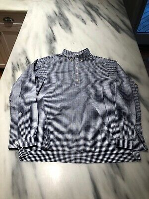 6ba027fc2f8f American Eagle Outfitters Men's Print Button Down And Poplin Popover Shirt  M-L.