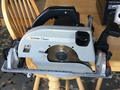 "Protool CSP85 10"" Saw With Rip Fence With 1 New Blade And 1 Resharpened Blade"