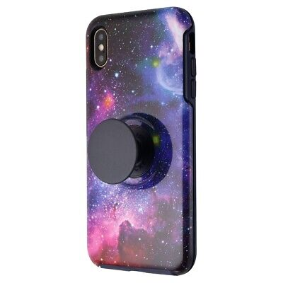 Renewed Otterbox + Pop Symmetry Series Case for Apple iPhone XS Max - Blue