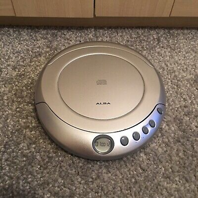 Alba personal CD player model No. CCD43 - Retro Vintage Discman Portable Working