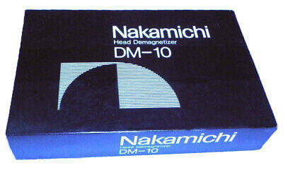 Nakamichi Head Demagnetizer DM-10 New in Box