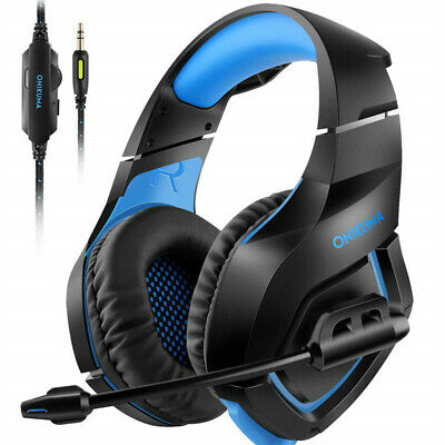 Gaming Headset Earphones with Mic for PS4 XBox One Nintendo Switch ONIKUMA K1-B