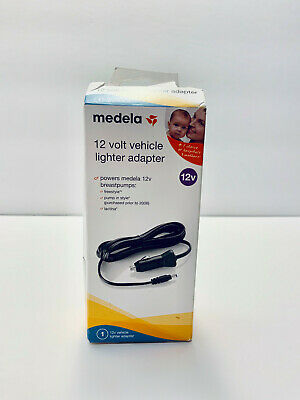 New Open Box Medela 12 Volt Vehicle Car Lighter Adapter for Freestyle Lactina