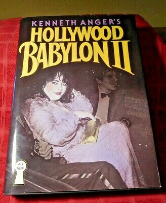 HOLLYWOOD BABYLON Kenneth Anger ~ True First Edition 1959 ~ 1st French Babylone