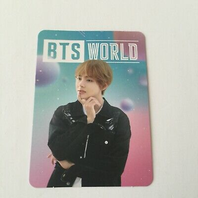 BTS World OST Album V Official Photocard Love Yourself Speak Yourself Persona