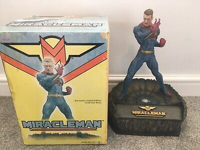 Rare Miracle Man Cold Cast Resin Statue Collector's Item