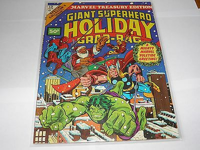 Marvel Treasury Edition 13 Giant Holiday Grab-Bag NEAR MINT HIGH GRADE UK Price