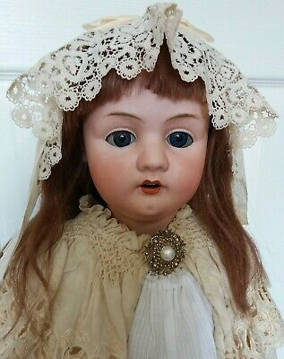 Huge Beautiful 32 Inch French Le Conte & Co Paris Child.