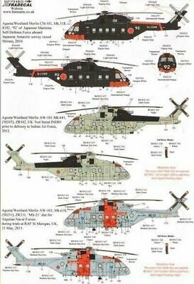 Xtradecal X48131 1/48 Agusta-Westland Merlin Model Decals