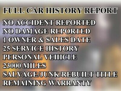 In 10 Minutes Full Vehicle Car Check Auto History report. Please Send VIN &Email