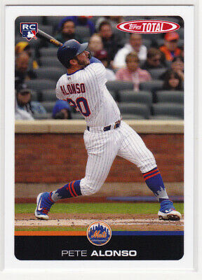 2019 Topps Total Wave 3 Complete 100 card Set with Pete Alonso RC, Betts, Muncy