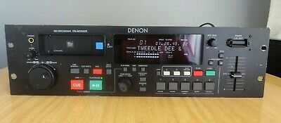 Denon DN-M2000R Mini-Disc Recorder With DJ Pitch Control