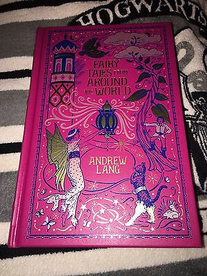 Fairy Tales from Around the World HB Book Barnes & Noble Leatherbound Classic