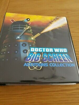 Dr Who Daleks Big Screen Additions Trading Cards Binder, Base, Chase and Autos