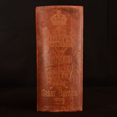 1900 Genealogical and Heraldic History of The Landed Gentry of Great Britain B.
