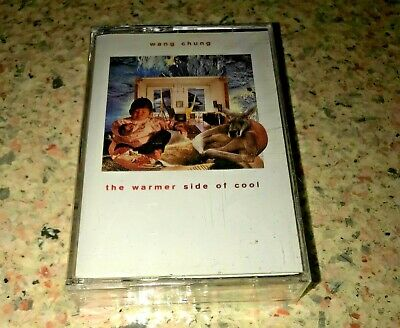WANG CHUNG ~ THE WARMER SIDE OF COOL ~ Album Audio Cassette  NEW FACTORY SEALED
