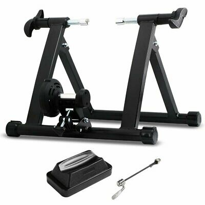 Bike Bicycle Indoor Exercise Stationary Workout Trainer Stand Premium Heavy Duty