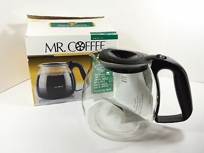 Mr. Coffee Coffee Maker 12 Cup Black Carafe, URD13 Replacement Decanter NEW