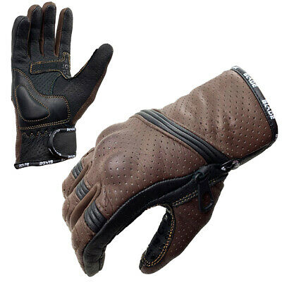 Blade® Best Summer Motorcycle Motorbike Gloves Winter Leather Knuckle Protection