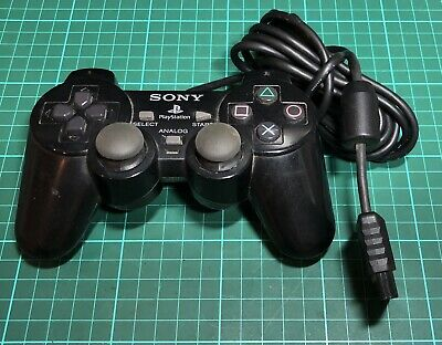 Sony Playstation Dualshock 2 Controller, Black