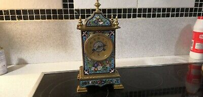 French Antique Carriage Clock by Edwards & Sons Glasgow