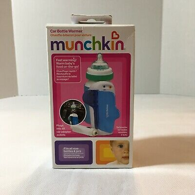 Munchkin Travel Baby Bottle Warmer 12V Car Auto Heater Portable