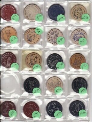 Nearly 200 Antique Gambling Chips