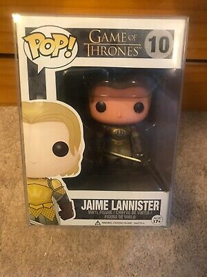 Funko Pop! Game of Thrones Jaime Lannister #10 Vaulted/Retired W/ Protector