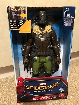 """Spider-Man Homecoming Electronic Marvel's Vulture 12"""" Figure + Battle Sound-FX"""