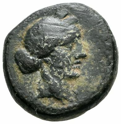 KOC Greek Coins.LYDIA. Sardeis (BC 2nd-1st cent) AE 13mm. 4,15g. Apollo,