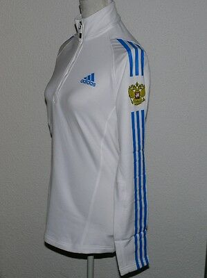 RUSSIA LANGARM PULLOVER Adidas G75347 12 Zip Stand Up Shirt