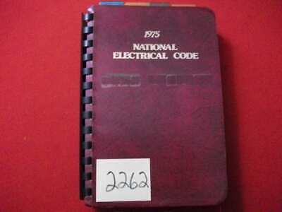 1975 National Electrical Code Looseleaf Book-Nfpa Collectible Electrician Vgc