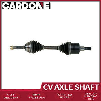 Shaft Front Pair CV Axle 2 PCS For 1991-1996 GMC SONOMA Except With ZR2 Option