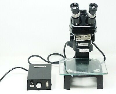 Bausch and Lomb Stereo Zoom Microscope .7x-3x w / Light Source Nikon HKW10X