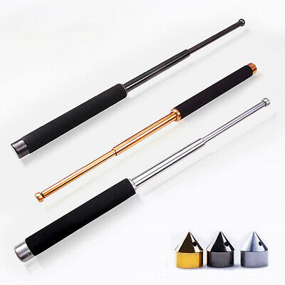 26'' Retractable Telescopic Security Stick Gift Self-Protector Outdoor Tool GS
