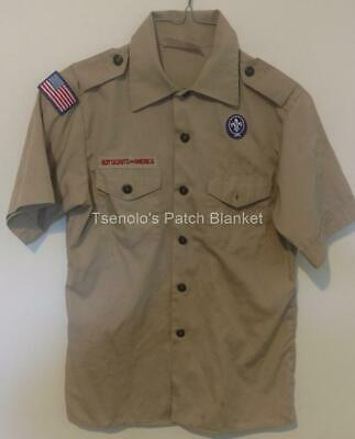 Boy Scout now Scouts BSA Uniform Shirt Size Youth Large SS FREE SHIPPING 055