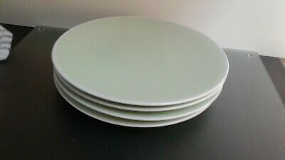 Marks And Spencer Andante Pastel  Green Dinner Plates X 4