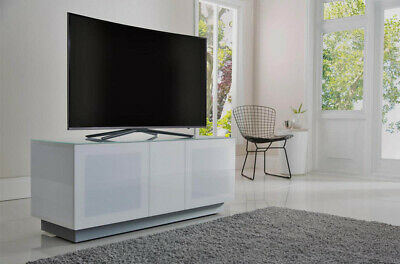 ALPHASON ELEMENT EMT2500XL-WHI White TV Stand for up to 110